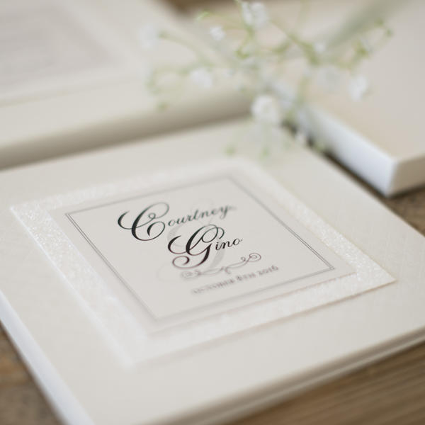 classic white Custom Designed Invitations Melbourne | Very Inviting Couture Invitations
