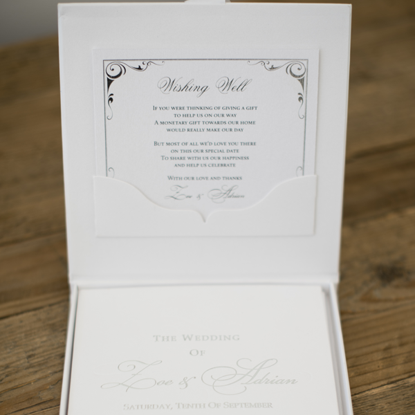 Black and White Custom Designed Invitations Melbourne | Very Inviting Couture Invitations
